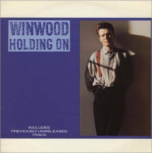 Steve Winwood: Holding On - Cover