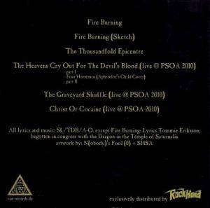 The Devil's Blood: Fire Burning (Single-CD) - Bild 2