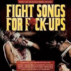 Fight Songs For F*ck-Ups - Cover