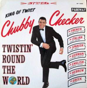 Cover - Chubby Checker: Twistin' Round The World