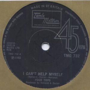 Four Tops: I Can't Help Myself - Cover
