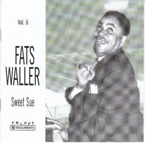 Fats Waller: Sweet Sue - Cover