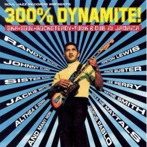 300% Dynamite! - Cover
