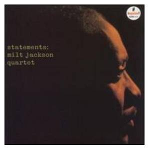Cover - Milt Jackson: Statements