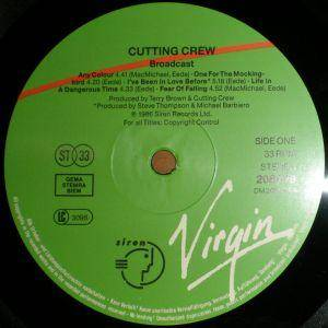 Cutting Crew: Broadcast (LP) - Bild 3