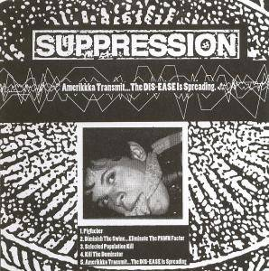 Cover - Suppression: Suppression / Dahmer