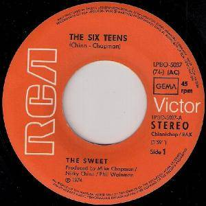 "The Sweet: The Six Teens (7"") - Bild 2"