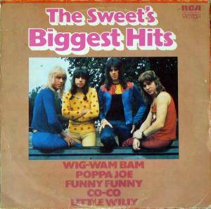 The Sweet: Sweet's Biggest Hits, The - Cover