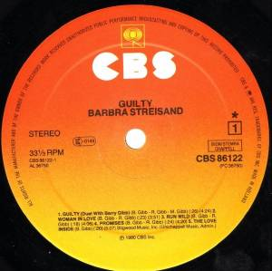 Barbra Streisand & Barry Gibb: Guilty (LP) - Bild 6