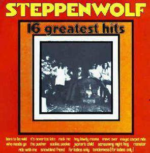 Steppenwolf: 16 Greatest Hits - Cover