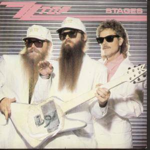 ZZ Top: Stages - Cover