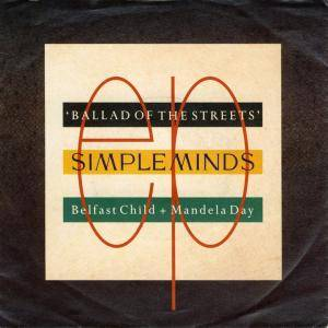 Simple Minds: Ballad Of The Streets EP - Cover