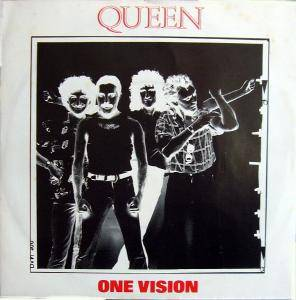 Queen: One Vision - Cover