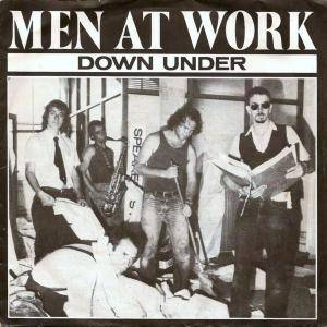 Men At Work: Down Under - Cover
