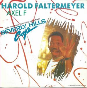 Cover - Harold Faltermeyer: Axel F