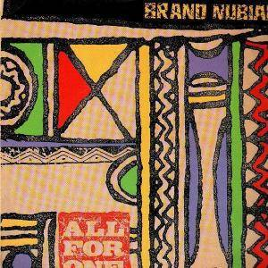 Cover - Brand Nubian: All For One