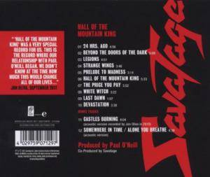 Savatage: Hall Of The Mountain King (CD) - Bild 2