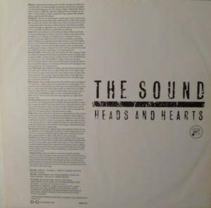The Sound: Heads And Hearts (LP) - Bild 3
