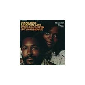 Cover - Diana Ross & Marvin Gaye: Stop, Look, Listen (To Your Heart)