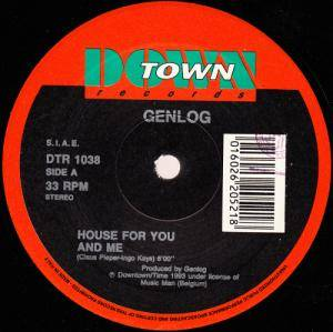 Cover - Genlog: House For You And Me