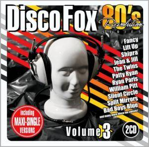 80's Revolution Disco Fox Volume 3 - Cover