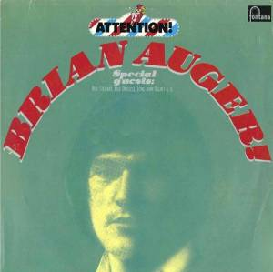 Cover - Brian Auger: Attention! Brian Auger!