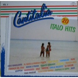Cover - Various Artists/Sampler: Cantitalia - 20 Italo Hits Vol.3