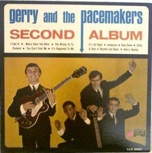 Cover - Gerry And The Pacemakers: Second Album