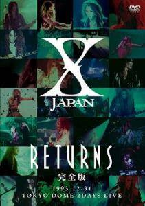 X Japan: Returns (1993.12.31.) - Cover