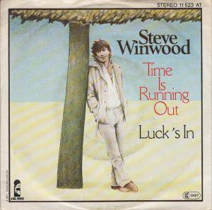 Cover - Steve Winwood: Time Is Running Out