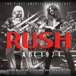 Rush: ABC 1974 - Cover