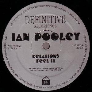 Cover - Ian Pooley: Relations