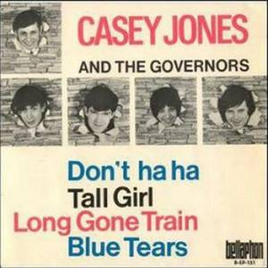 Cover - Casey Jones & The Governors: Don't Ha Ha (EP)
