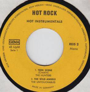 Cover - Hunters, The: Hot Rock - Hot Instrumentals