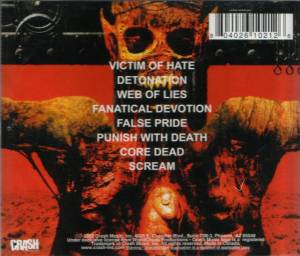 King's-Evil: Deletion Of Humanoise (CD) - Bild 3