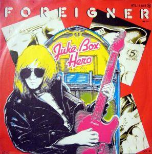 Foreigner: Juke Box Hero - Cover