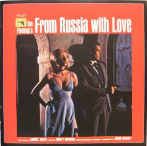 Cover - John Barry: From Russia With Love