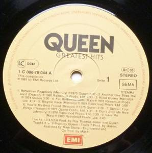 Queen: Greatest Hits (LP) - Bild 5