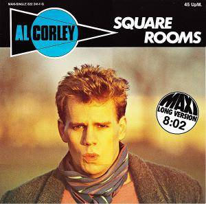 Al Corley: Square Rooms - Cover