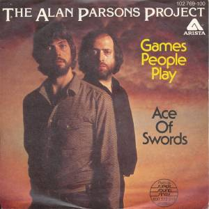 The Alan Parsons Project: Games People Play - Cover