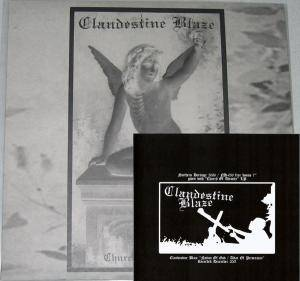Clandestine Blaze: Church Of Atrocity - Cover