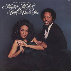Cover - Marilyn McCoo & Billy Davis Jr.: I Hope We Get To Love In Time