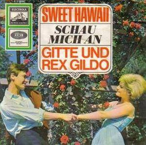 Cover - Gitte & Rex Gildo: Sweet Hawaii