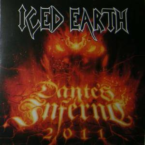 Iced Earth: Dante's Inferno 2011 - Cover