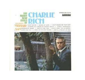 Cover - Charlie Rich: Many New Sides Of Charlie Rich, The