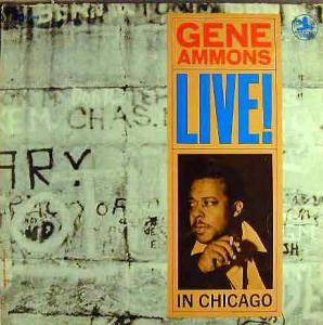 Gene Ammons: Live! In Chicago - Cover