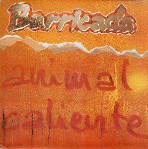 Barricada: Animal Caliente - Cover