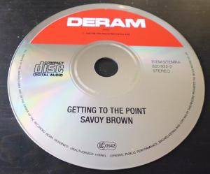 Savoy Brown: Getting To The Point (CD) - Bild 4