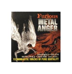 Cover - Disincarnate: Furious Metal Anger