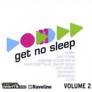 Get No Sleep Volume 2 - Cover